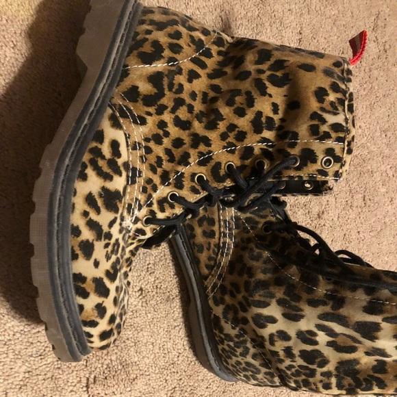 Shoes   Womens Leopard Boots   Poshmark